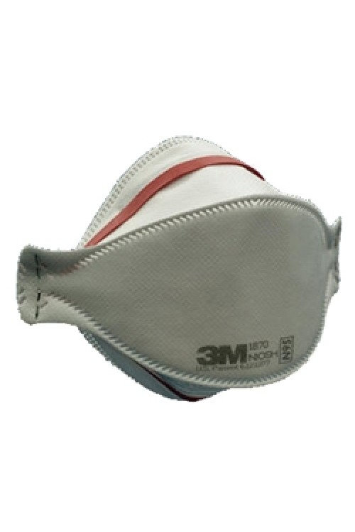 3M 1870 N95 Health Care Particulate Respirator and Surgical Mask Box of 20