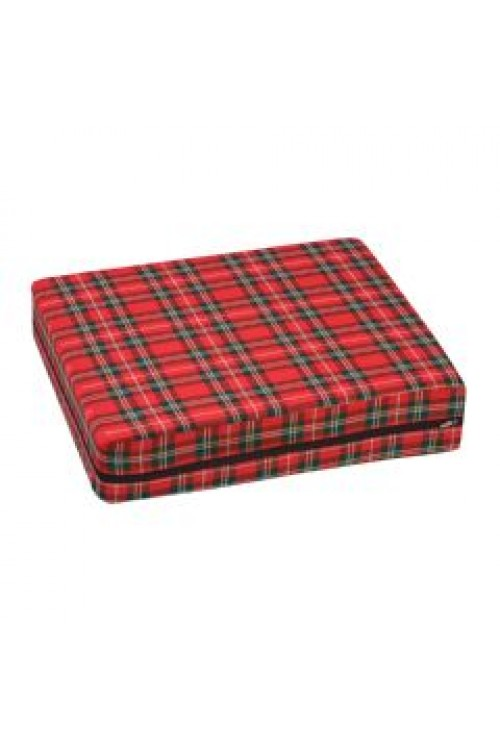 High Density Foam Wheelchair Cushion Plaid #513-7606-9910