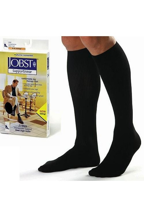 Jobst for Men - Men's 8-15mmHg Casual Compression Support Socks