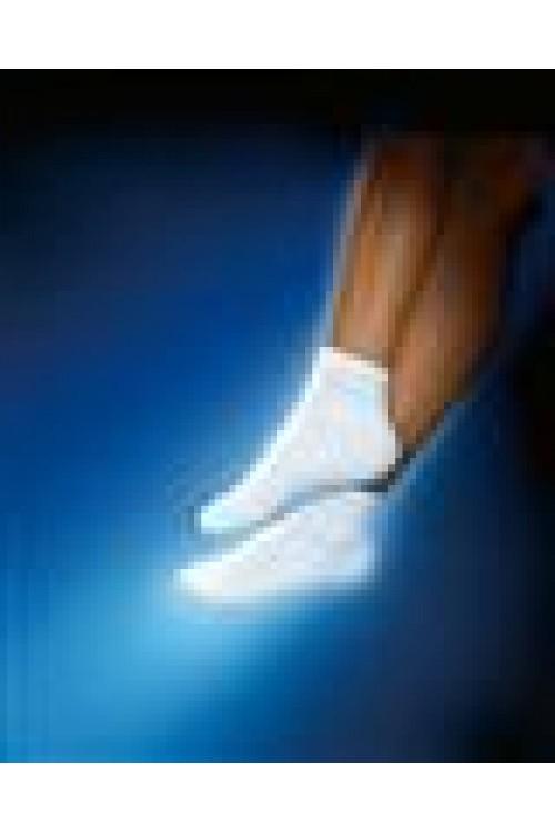 Jobst SensiFoot 8-15 mmHg Unisex Mini-Crew Diabetic Mild Support Socks - White