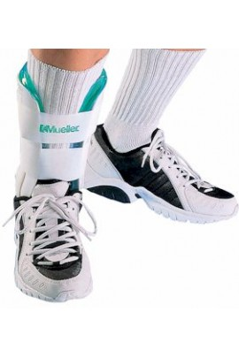 Mueller #4556 Gel Ankle Brace - White