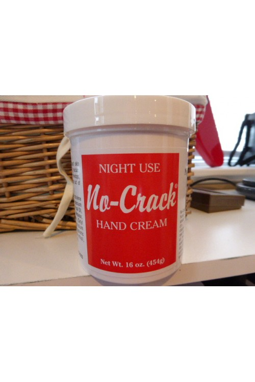 No Crack Night Use Hand Cream - 16oz